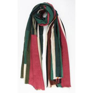 """Sjaal """"Monteria"""" groen"""