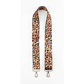 """Carrying strap for bags """"Chaque"""" brown"""