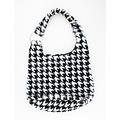 """Shoulder bag """"Mutata"""" black / white"""