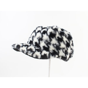 "Balloon cap ""Bano"" black / white"