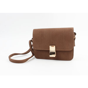 "Crossbody bag ""Domingo"" brown"