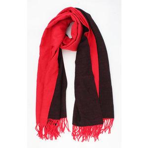 """Sjaal """"Matanza"""" rood"""