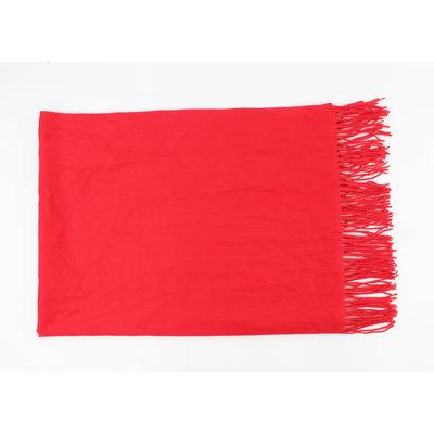 """Sjaal """"Palan"""" rood"""