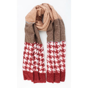 "Scarf ""Vilca"" red"