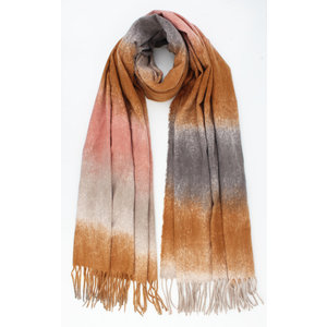 "Scarf ""celica"" brown"