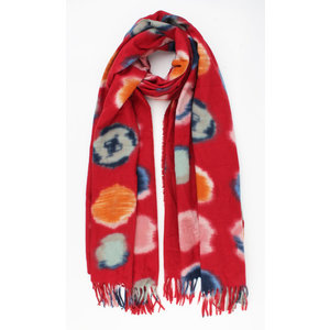 "Scarf ""Argelia"" red"