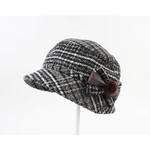 "Ladies hat ""Rosas"" grey"