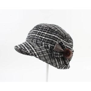 """Ladies hat """"Rosas"""" gris"""