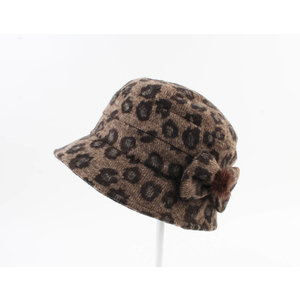 "Ladies hat ""Guita"" brown"