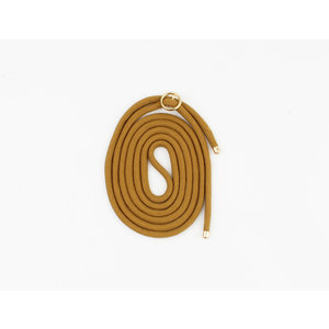 "Cord for phone case """" ocher yellow, per 3 pieces."