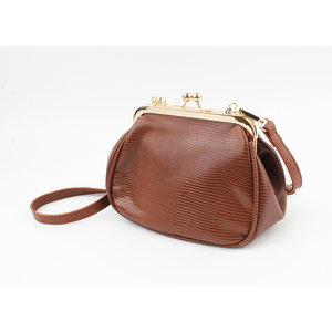 "Crossbody bag ""Paita"" brown"