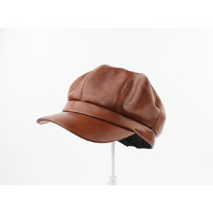 "Balloon cap ""Piura"" brown"