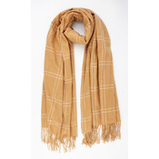 "Scarf ""Casma"" brown"