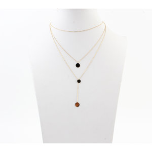 """Necklace """"Chimbo"""" gold"""