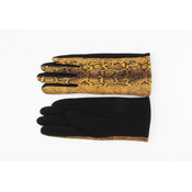 "Handschuhe ""Unio"" ockergelb"