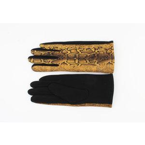 "Gloves ""Unio"" ocher yellow"