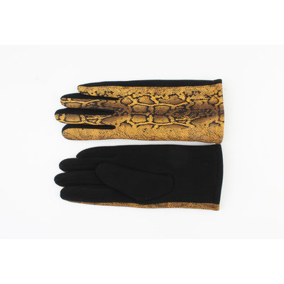 """Handschoenen """"Unio"""" okergeel"""