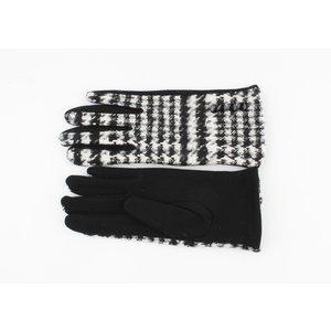 "Handschoenen ""Patay"" zwart/wit"