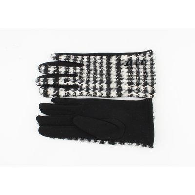 """Handschuhe """"Patay"""" schwarz / weiß"""