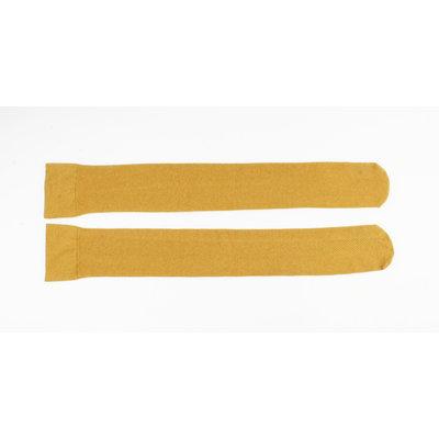 "Socks ""Macora"" ocher yellow"