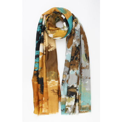 "Scarf ""Pana"" brown"