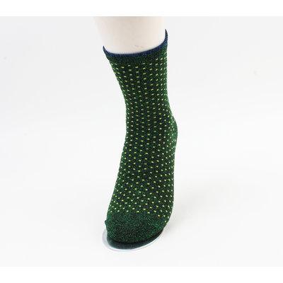"Sokken ""Jivia"" groen"
