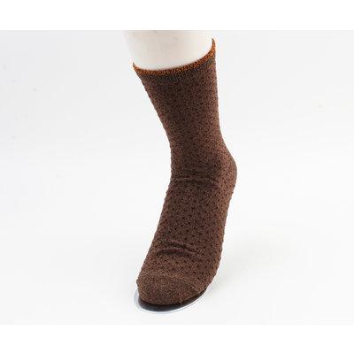 "Socks ""Jivia"" brown"