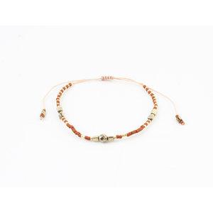 """Bracelet """"Santoa"""" rust / gold"""