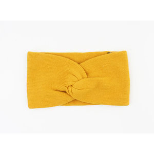 "Headband ""Sampaya"" ocher yellow"
