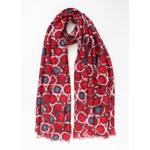 """Scarf """"Acora"""" red"""