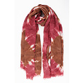 """Scarf """"July"""" pink"""