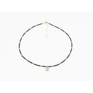 """Necklace """"Poto"""" black"""