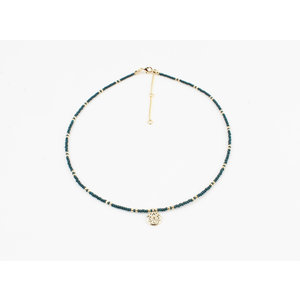 """Halskette """"Poto"""" blau"""