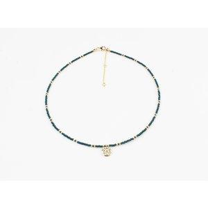 """Necklace """"Poto"""" blue"""