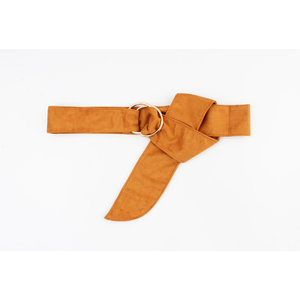 "Belt ""Cuani"" ocher yellow"