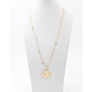 """Necklace """"Chivay"""" gold / black"""