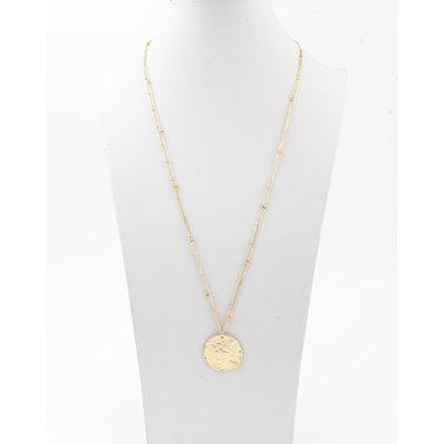 """Halskette """"Chivay"""" gold / braun"""