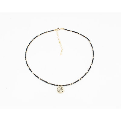 "Necklace ""Coto"" black"