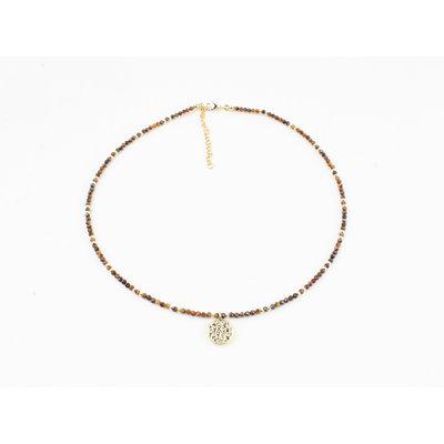 """Necklace """"Coto"""" brown"""
