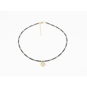 """Necklace """"Chala"""" black"""