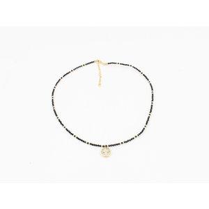 """Necklace """"Caldera"""" black"""