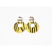 """Earring """"Itiza"""" yellow"""