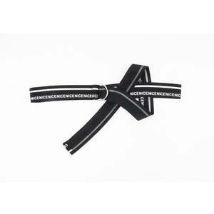 "Belt ""Casia"" black / white"