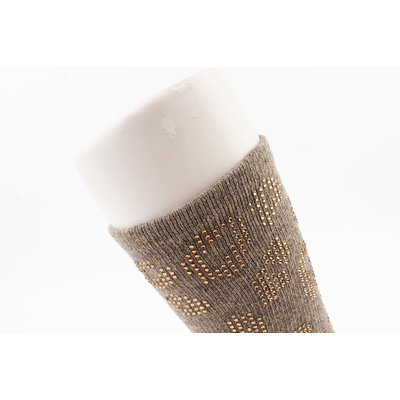 "Socks ""Moquella"" taupe"