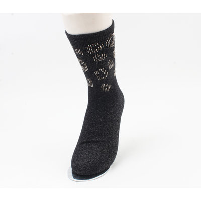 "Sokken ""Moquella"" zwart"