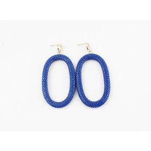 """Earring """"Yura"""" blue"""