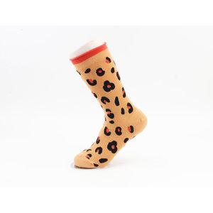 """Socken """"Michilla"""" ockergelb"""