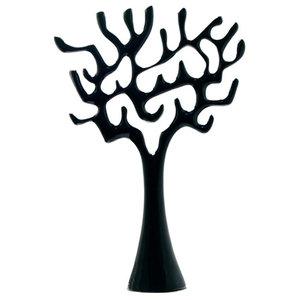 Display Porzellanbaum, schwarz