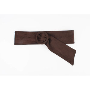 "Belt ""Lipez"" dark brown"