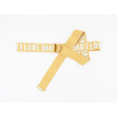 "Belt ""Casia"" yellow"
